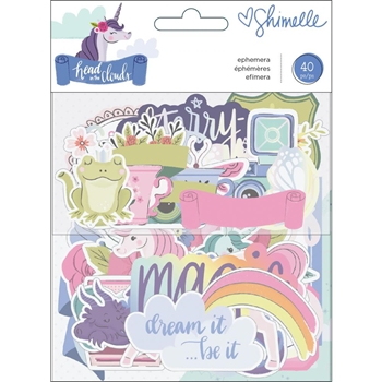 American Crafts Shimelle EPHEMERA Head in the Clouds 349465