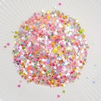 Little Things From Lucy's Cards SPRINKLES UNICORN CRUSH Sparkly Shaker Mix LB190