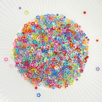 Little Things From Lucy's Cards SPRINKLES HOLLOW STARS Sparkly Shaker Mix LB189