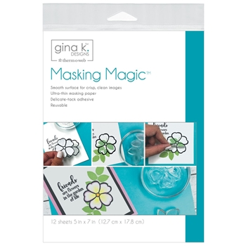 Therm O Web Gina K Designs MASKING MAGIC Mask Paper 18123