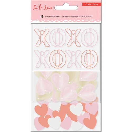 Crate Paper LA LA LOVE Embellishments 344560 Preview Image