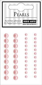 Hero Arts 42 Accent Pearls PALE PINK ch170 zoom image