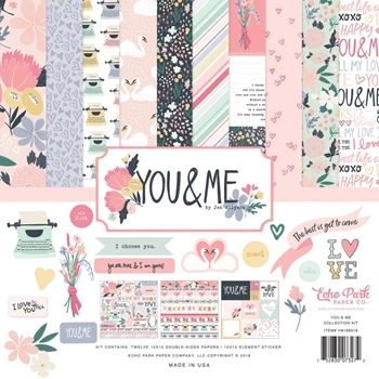 Echo Park YOU AND ME 12 x 12 Collection Kit ym168016