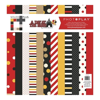 PhotoPlay A DAY AT THE PARK 12 x 12 Solids Collection Pack ColorPlay adp9188
