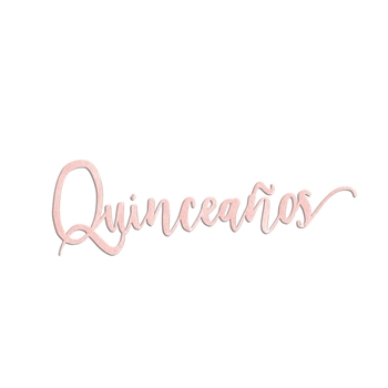 Sizzix QUINCEANOS (15 YEARS) Thinlits Die 663217