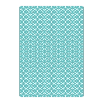 Sizzix Textured Impressions Plus CRUZES Y GEOMETRICOS (CROSSES AND GEOMETRICS) Embossing Folder 663227