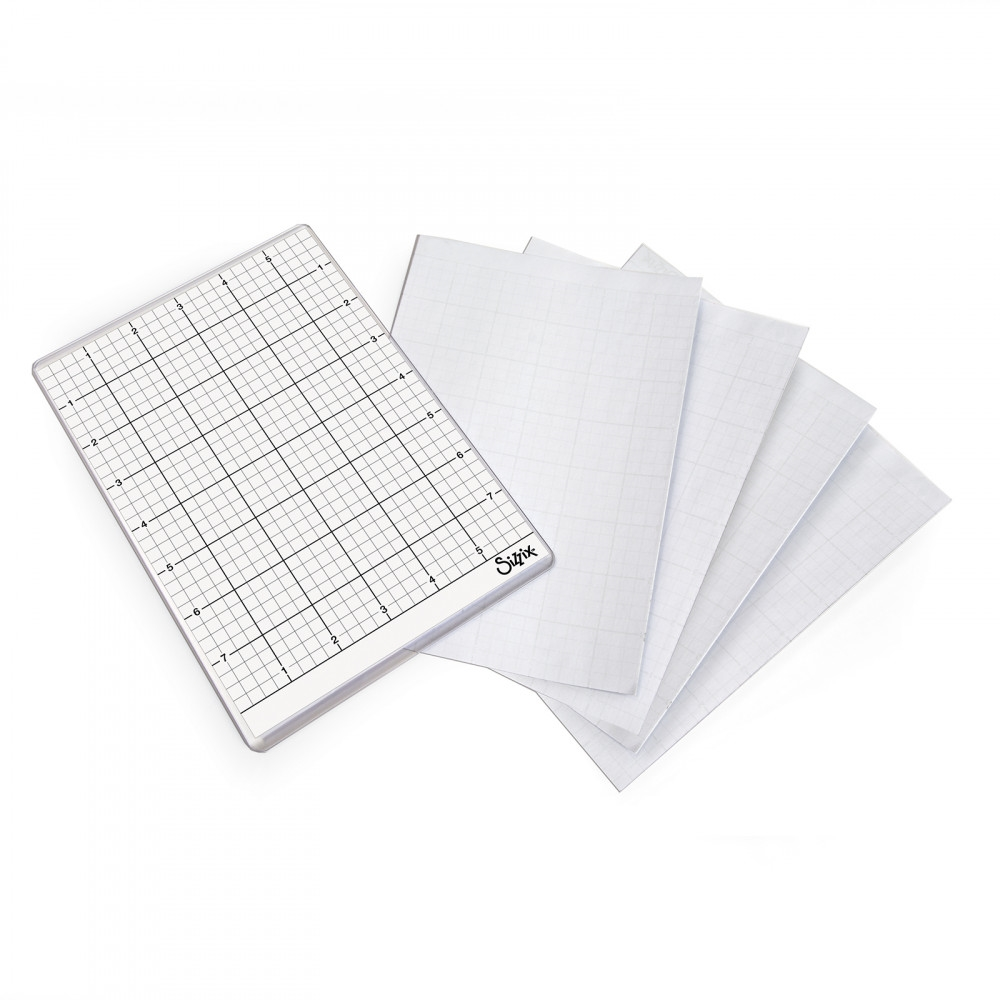 Sizzix STICKY GRID SHEETS 6x8.5 663533 zoom image