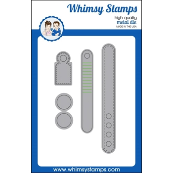 Whimsy Stamps NO-SEE KINETIC BASICS Dies WSD291