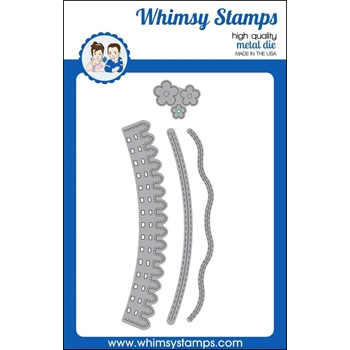 Whimsy Stamps KINETIC CURVED HILLS Dies WSD323