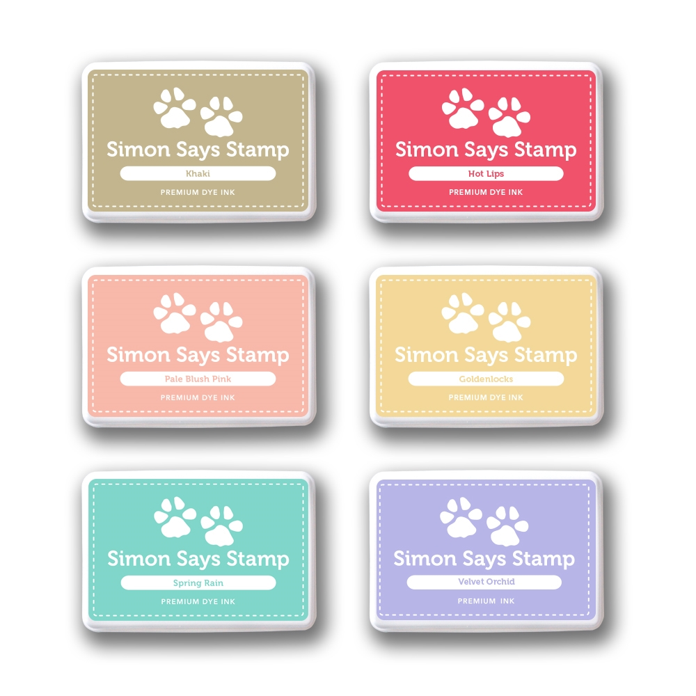 Simon's Exclucive Dye Ink Pads