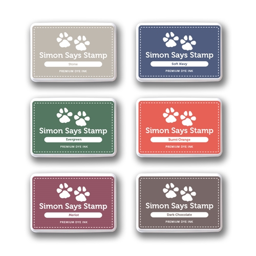 Simon Says Stamp Premium Dye Ink Pad Set HEARTH sethe09 Preview Image