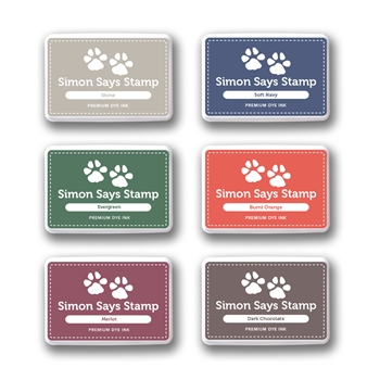 Simon Says Stamp Premium Dye Ink Pad Set HEARTH sethe09