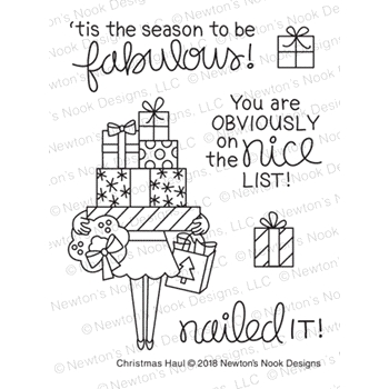 Newton's Nook Designs CHRISTMAS HAUL Clear Stamps NN1811S06