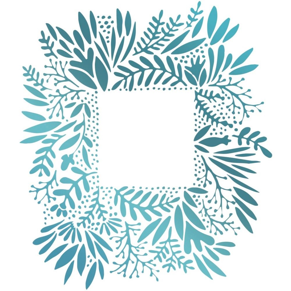Couture Creations WILD FRAME Hotfoil Stamp Le Petit Jardin co725432 zoom image
