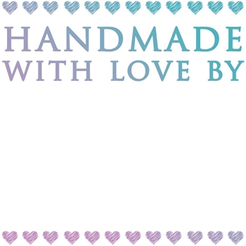 Couture Creations MINI HANDMADE WITH LOVE Clear Stamp Le Petit Jardin co725440