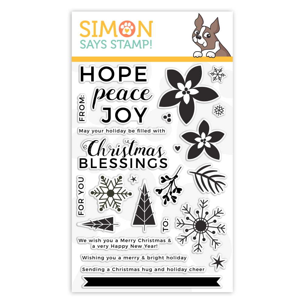 Simon Says Clear Stamps PEACEFUL CHRISTMAS sss101954 zoom image