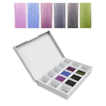 Daniel Smith COLORS OF INSPIRATION Hand Poured Watercolor Half Pan Set 285650003
