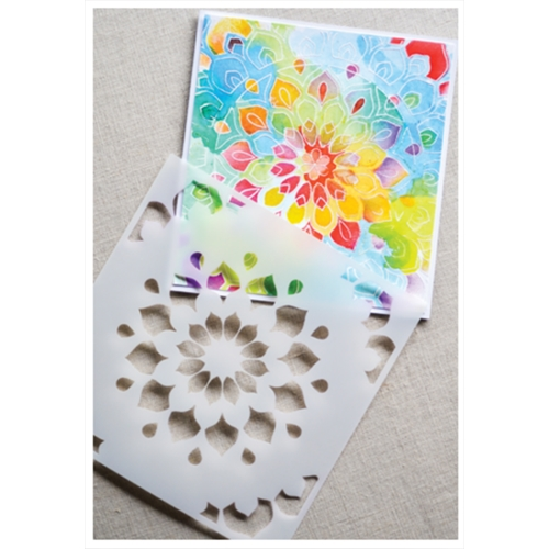 Birch Press Design SHINING MANDALA Stencils 44026 Preview Image