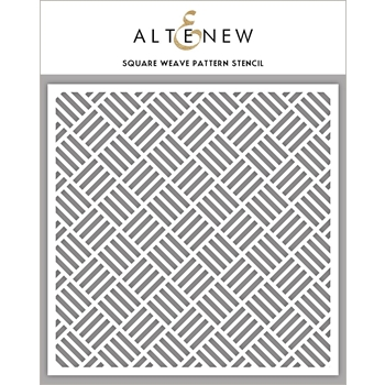 Altenew SQUARE WEAVE PATTERN Stencil ALT2783