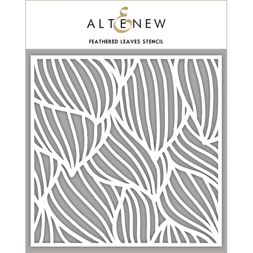 Altenew FEATHERED LEAVES Stencil ALT2777 Preview Image