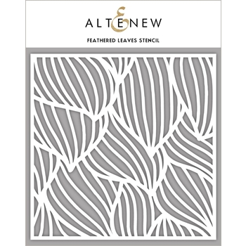 Altenew FEATHERED LEAVES Stencil ALT2777