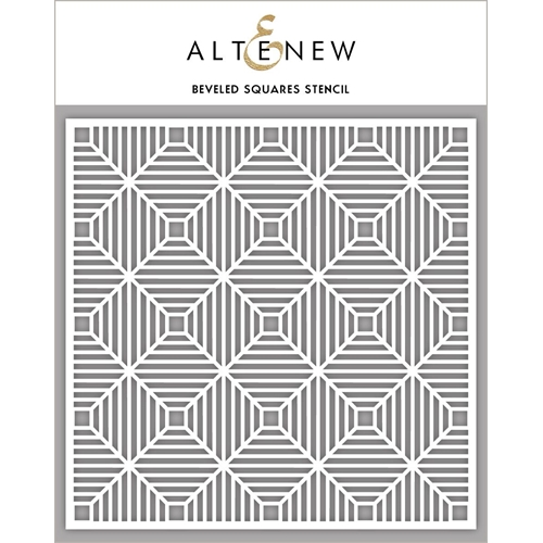 Altenew BEVELED SQUARES Stencil ALT2775 Preview Image