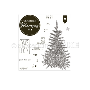 Alexandra Renke CHRISTMAS MEMORIES Clear Stamp Set astarw0011