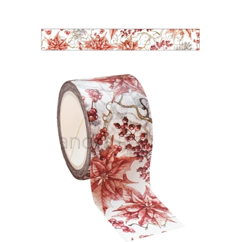 Alexandra Renke RED WINTER ROSE Washi Tape wtarw0022
