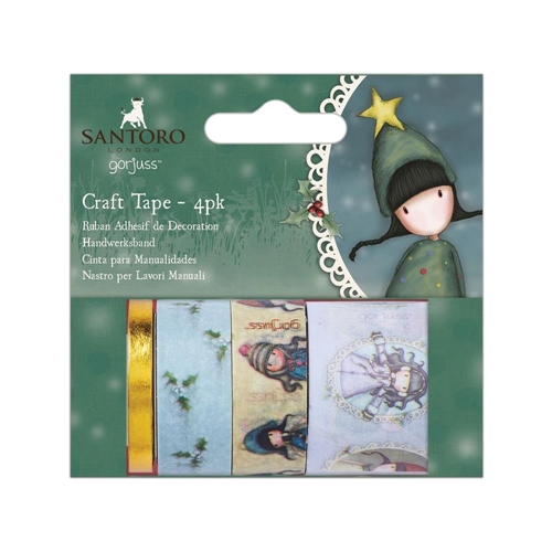 DoCrafts CHRISTMAS Craft Tape Gorjuss go462900 Preview Image
