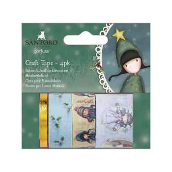 DoCrafts CHRISTMAS Craft Tape Gorjuss go462900