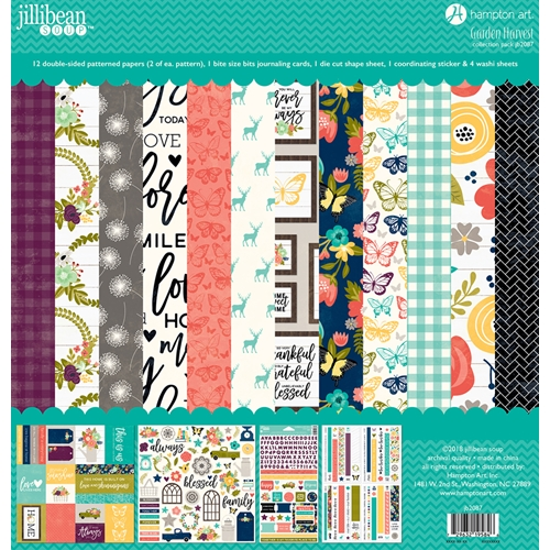 Jillibean Soup GARDEN HARVEST 12x12 Collection Pack jb2087 Preview Image
