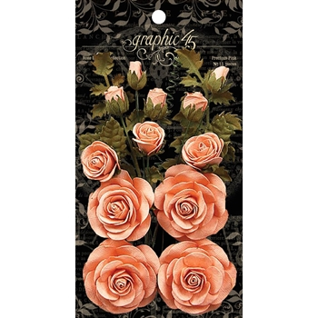 Graphic 45 PRECIOUS PINK Rose Bouquet 4501786
