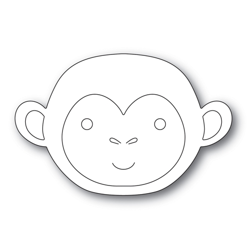 Simon Says Stamp BIG PICTURE BOOK MONKEY Wafer Die s574 Diecember Preview Image