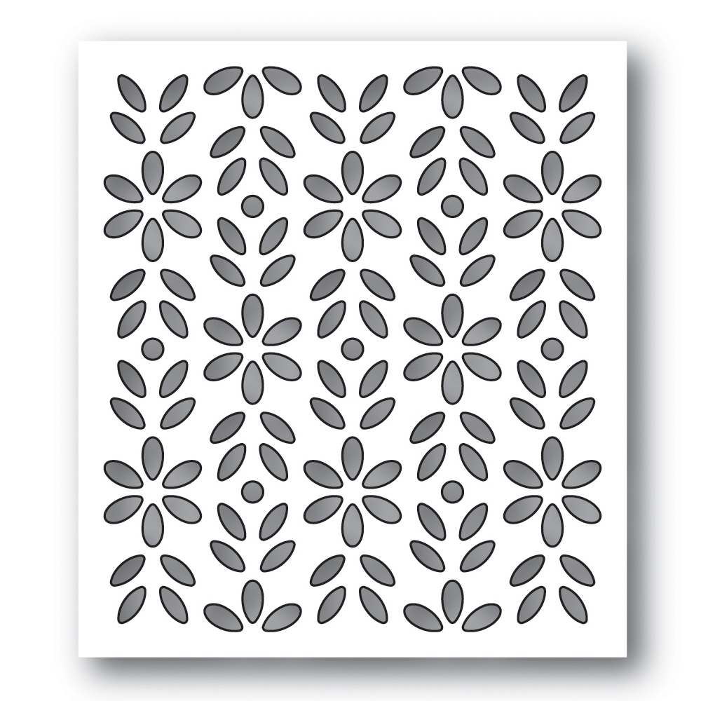 Simon Says Stamp BIXBY BACKGROUND Wafer Die s624 Diecember zoom image