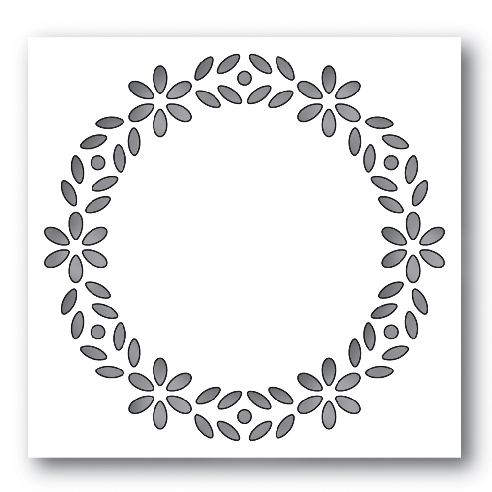 Simon Says Stamp BIXBY WREATH Wafer Die s626 Diecember zoom image