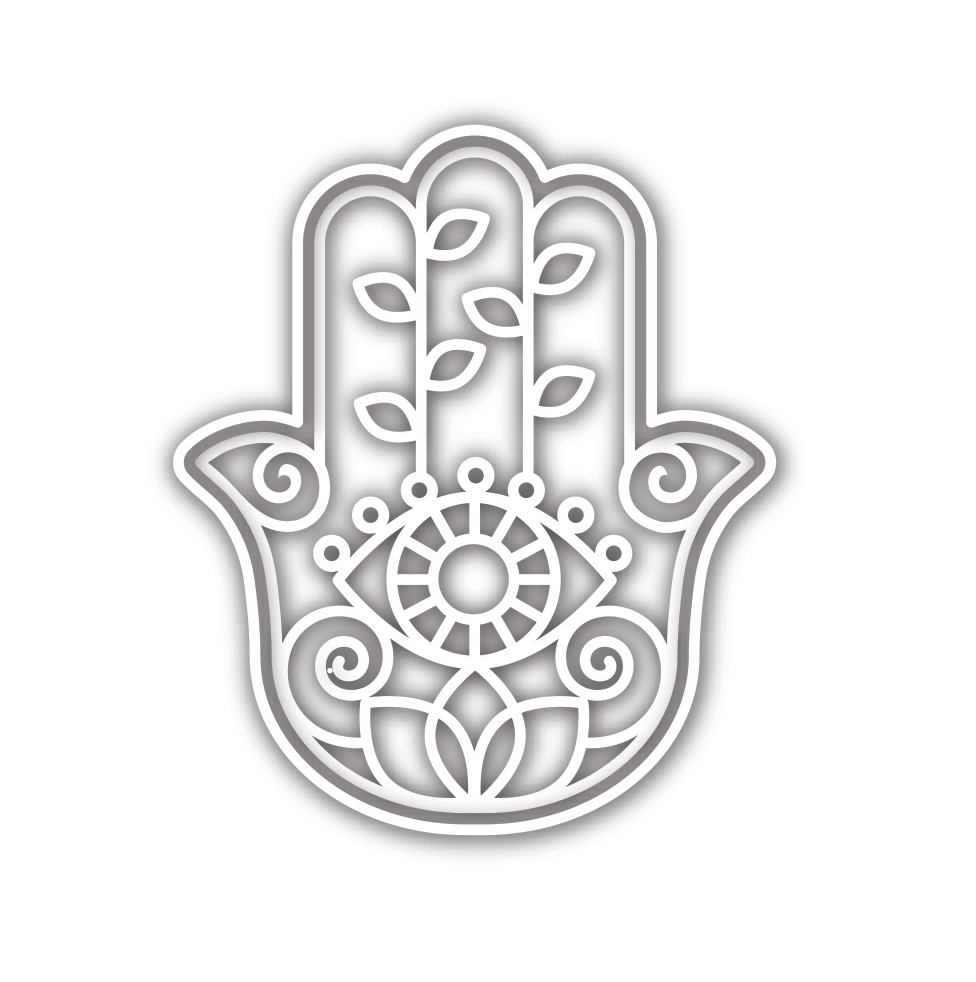 Simon Says Stamp DECORATIVE HAMSA Wafer Die sssd111919 Diecember zoom image