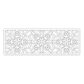 Simon Says Stamp WROUGHT IRON WIDE BORDER Wafer Die sssd111936 Diecember