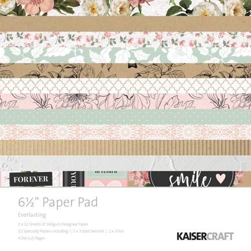 Kaisercraft EVERLASTING 6.5 Inch Paper Pad PP1057 Preview Image