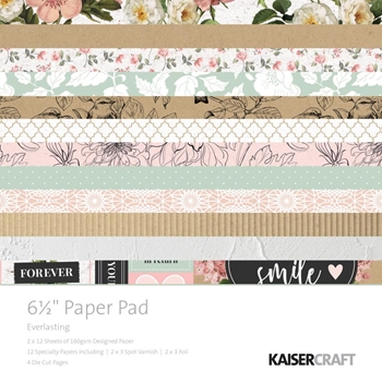 Kaisercraft EVERLASTING 6.5 Inch Paper Pad PP1057