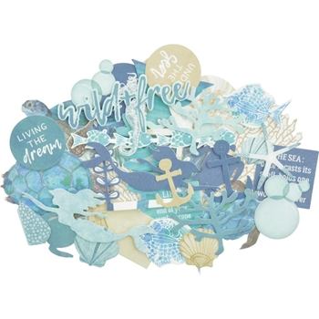 Kaisercraft DEEP SEA Collectables Die Cut Shapes CT951