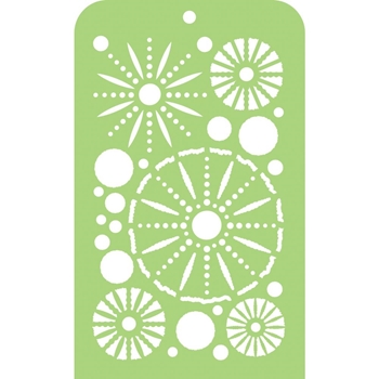 Kaisercraft SEA URCHINS Mini Designer Stencil Template IT046