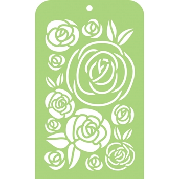Kaisercraft ROSES Mini Designer Stencil Template IT045