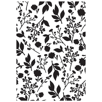 Kaisercraft BLOOM 4x6 Inch Embossing Folder EF296