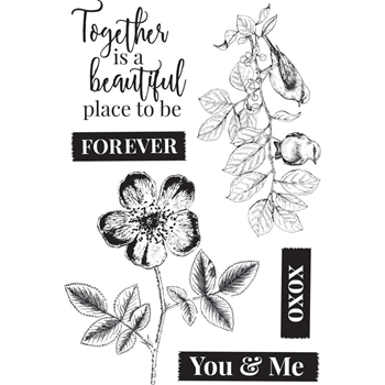 Kaisercraft EVERLASTING Clear Stamps CS342