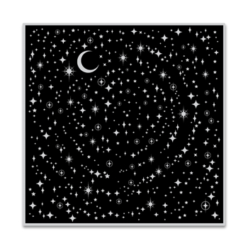 Hero Arts Cling Stamp STAR LIGHT STAR BRIGHT BOLD PRINTS CG755