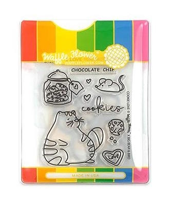 Waffle Flower COOKIE LOVE Clear Stamp and Die Set WFC214 zoom image