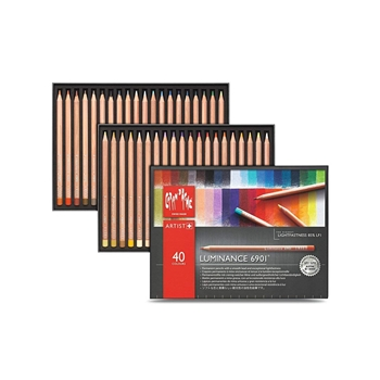 Caran d'Ache LUMINANCE 40 Colored Pencils 6901740