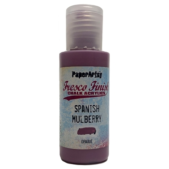 Paper Artsy Fresco Finish SPANISH MULBERRY Chalk Acrylic Paint 1.69oz ff71