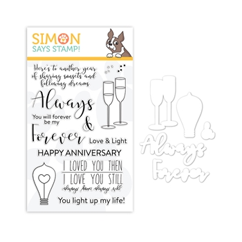 Simon Says Stamps And Dies ALWAYS AND FOREVER Set1218AF You Are Loved