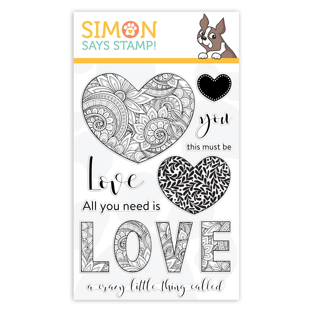 Simon Says Stamp Ornate Love Clear Stamp Set